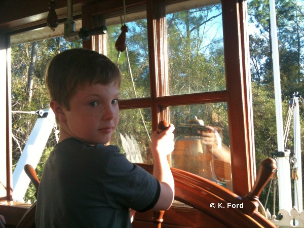 Carter on Jungle Cruise