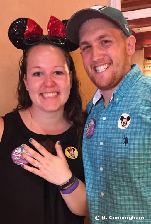 Engagement at Walt Disney World