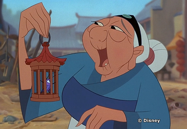 Grandmother Fa from Mulan
