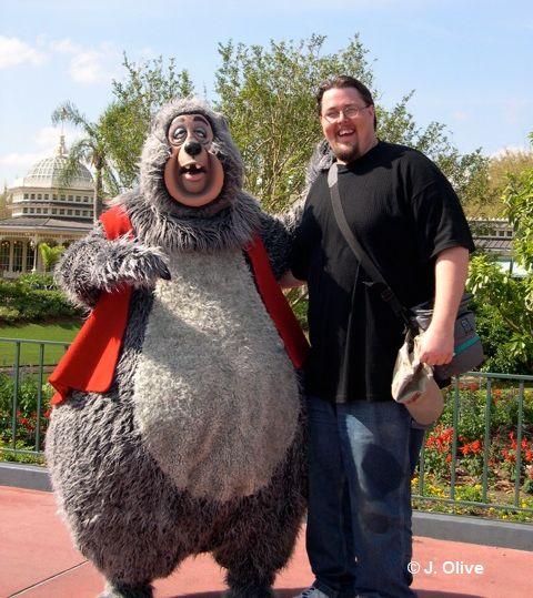 Josh Olive with Big Al