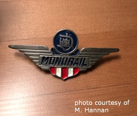 Monorail Pin