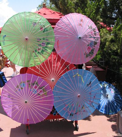 Parasols from China
