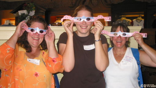 JoDeen, Michele and Donna with Gemini Specs