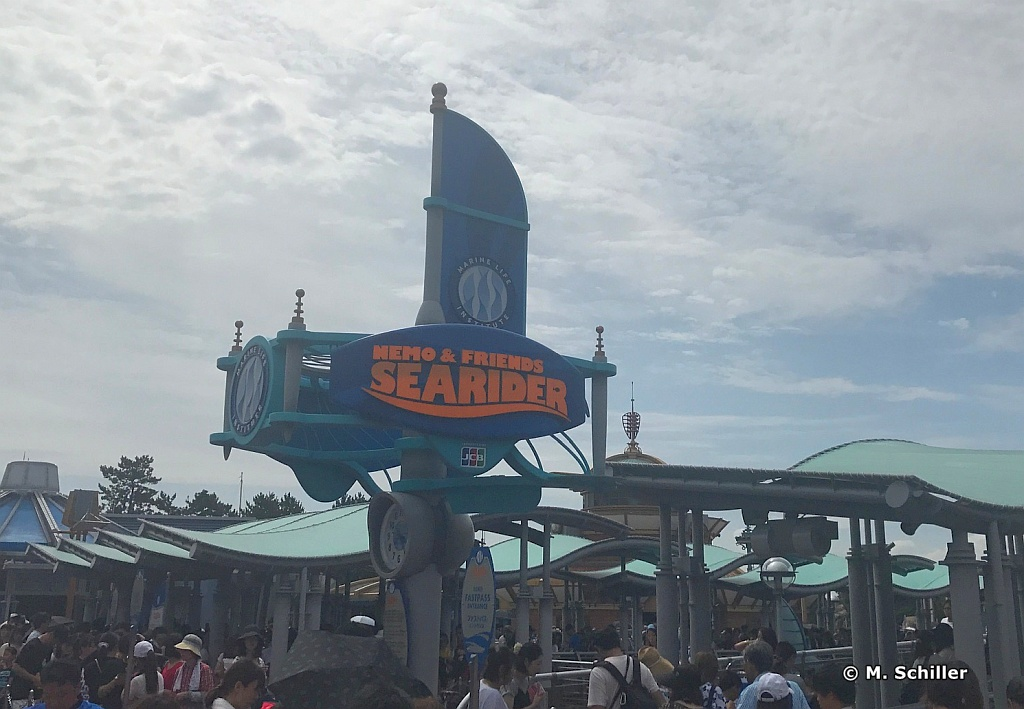 Tokyo Disneysea Nemo and Friends