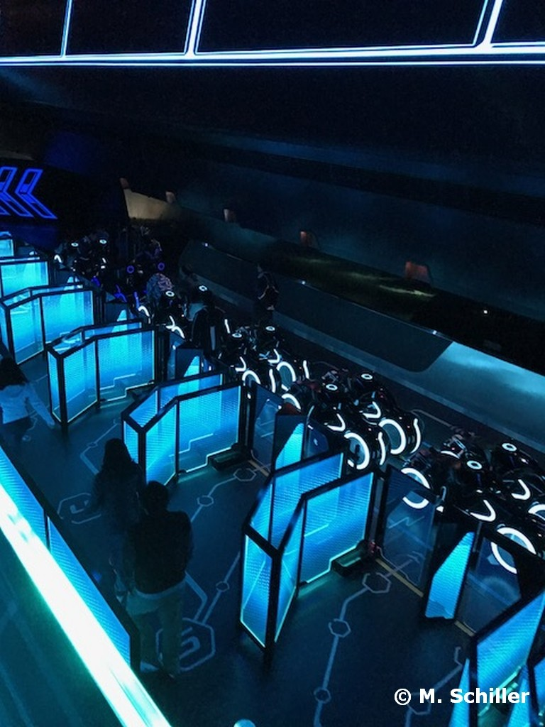 Tron Lightcycle Power Run at Shanghai Disneyland
