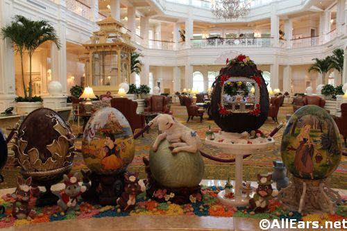 Easter Eggs Grand Floridian