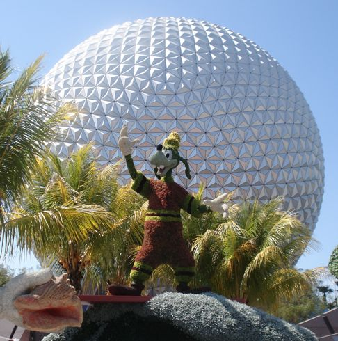 Spaceship Earth Flower and Garden Festival