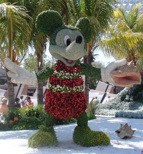 Mickey and the Flower and Garden Festival