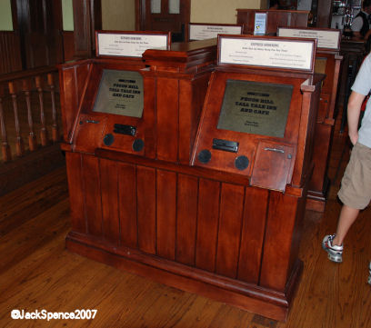 Pecos Bill's Ordering Station Kiosks