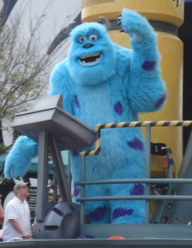 Sully in Block Party Bash Parade