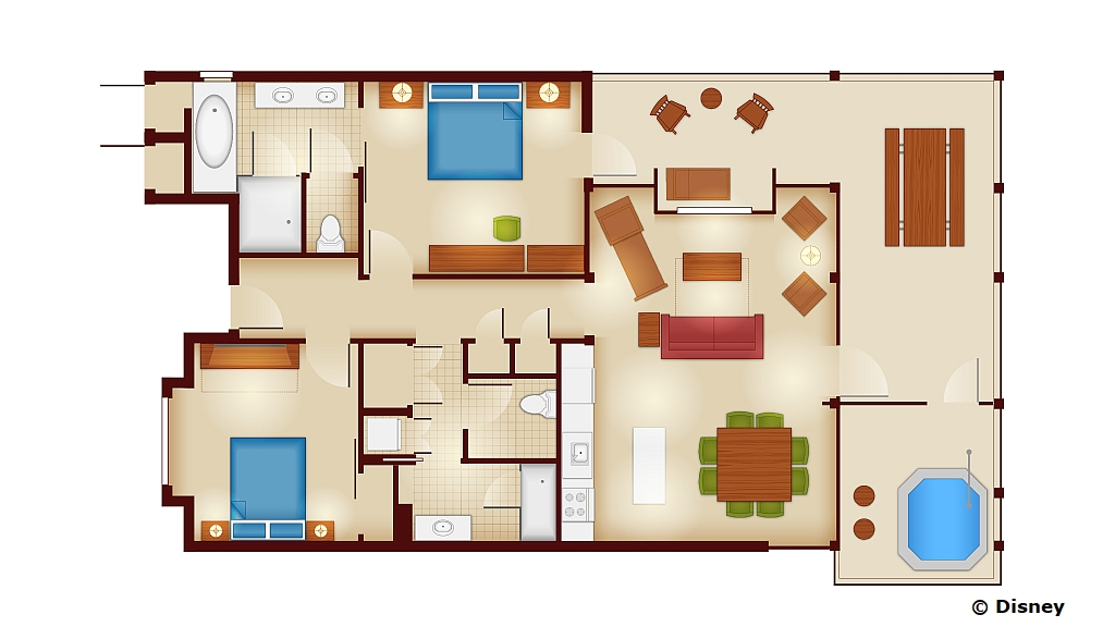 A little preview of the copper creek waterside cabins for Copper creek homes floor plans