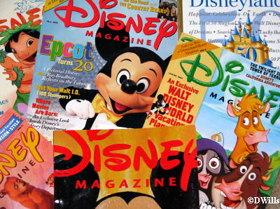 Disney Magazine Covers