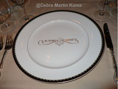 Dinner at Victoria and Albert's