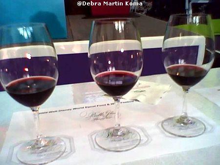 Caymus wine seminar