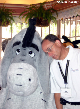 Plaza Inn Character Breakfast - Gary and Eeyore