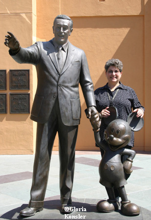 Walt, Mickey and Glo