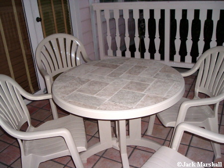 Old Key West New Patio Furniture