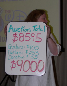 Auction Totals