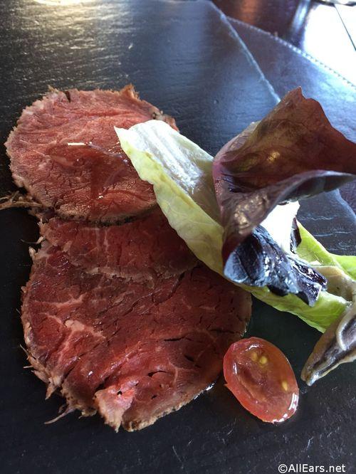 Harry's Beef Carpaccio Raglan Road Irish Pub and Restaurant