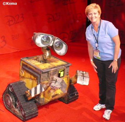 wall-e and Deb Koma