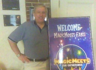 Mike Scopa Arrives at Magic Meets