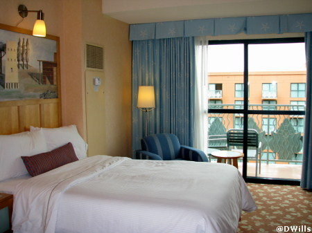 Walt Disney World Dolphin Guest Room