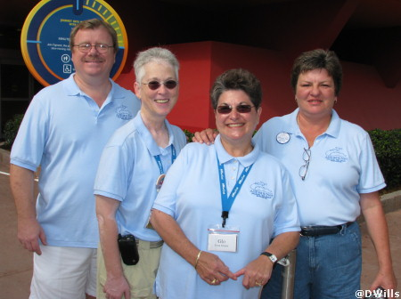 All Ears Team in Epcot