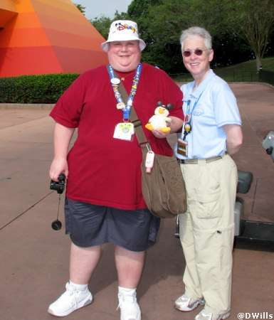 Epcot Imagination Meet Photograph April 20, 2008