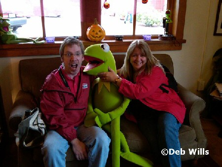Beci, Chris & Kermit