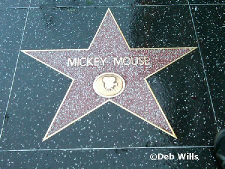 Mickey's Walk of Fame Star