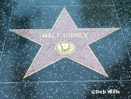 Walt's star
