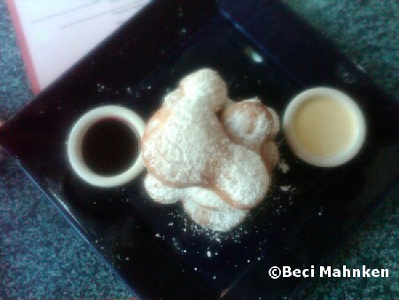 Mickey head beignets