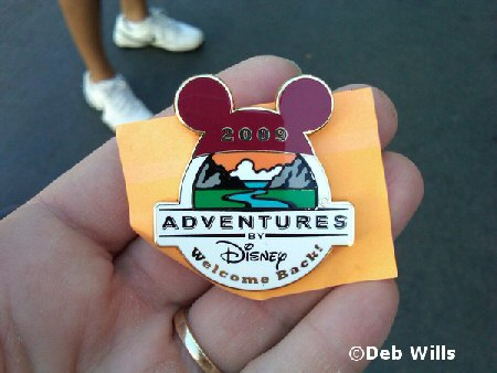 pin for repeat Adventures by Disney participants