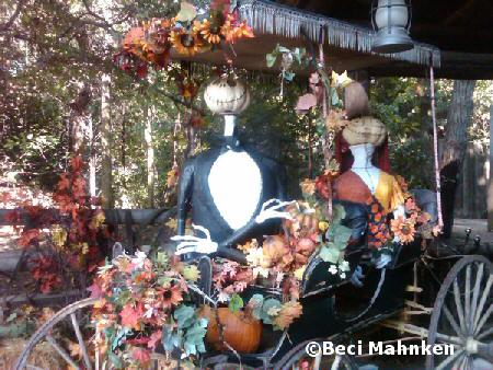 Halloween decorations at Big Thunder Ranch