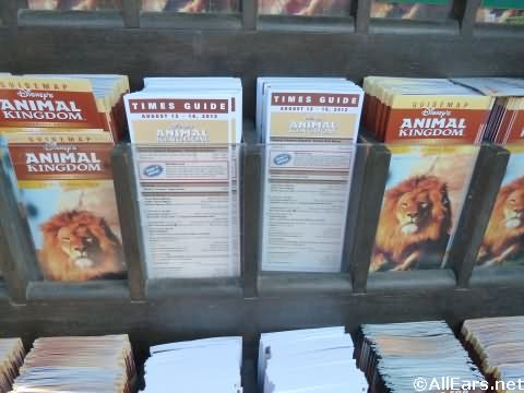 Animal Kingdom Times Guides