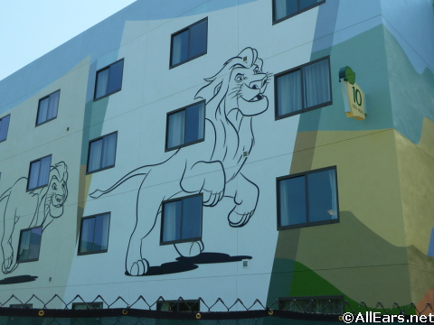 Lion King Art of Animation Resort