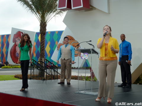 Art of Animation Resort Grand Opening