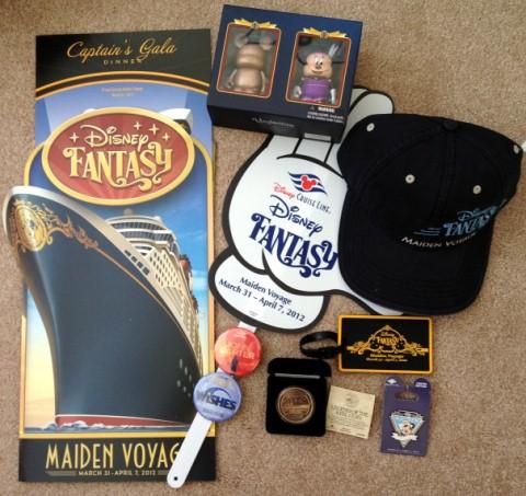 Disney Fantasy Maiden Voyage Merchandise Lot