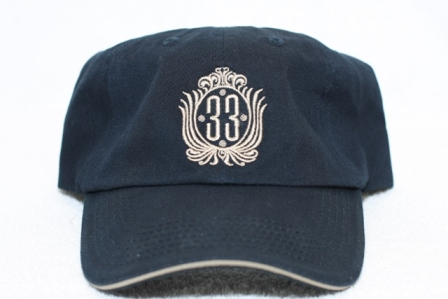 Club 33 hat front