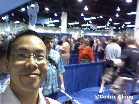 Cedric in line