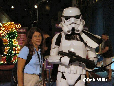 Storm Troopers and Laura