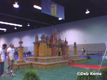 Food drive castle