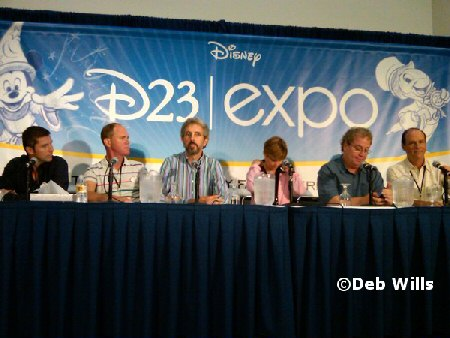 Pixar press conference