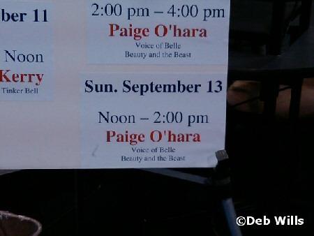 Page O'hara info