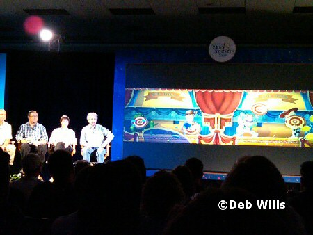 Toy Story Mania panel