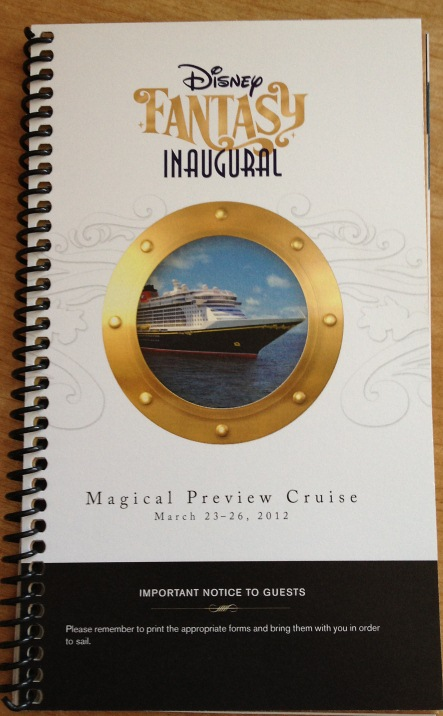 Fantasy Preview Cruise Docs