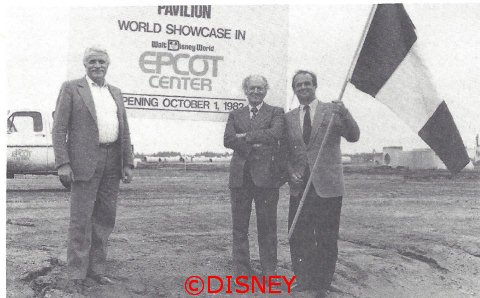 France Ground Breaking at Epcot