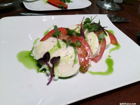 Caprese Salad at Tutto Italia in Epcot