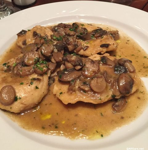 Scaloppine di Polla at Tutto Italia in Epcot