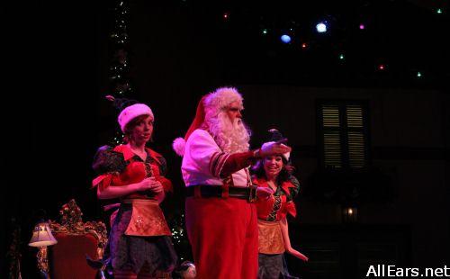 Santas Fireside Chat